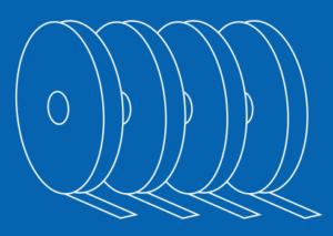 Blue Film Icon